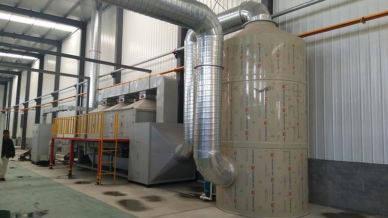 活性炭催化燃烧系统