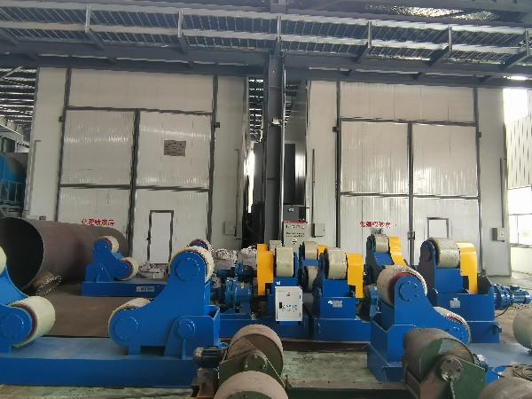 湖北十堰合作一套汽车排气管喷漆烘干设备