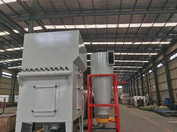 扬州防爆大旋风回收系统改造结束