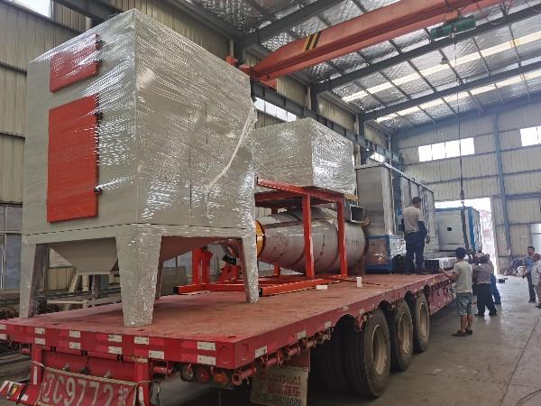 伊朗大旋风回收喷粉线发货