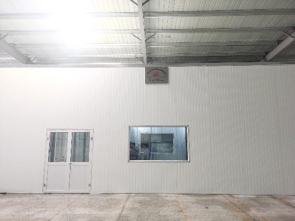 滁州家电前处理喷粉线安装结束