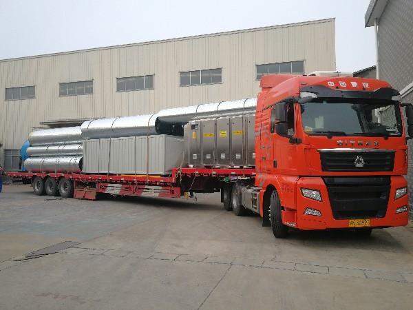 重庆五万风量喷漆线废气处理发货
